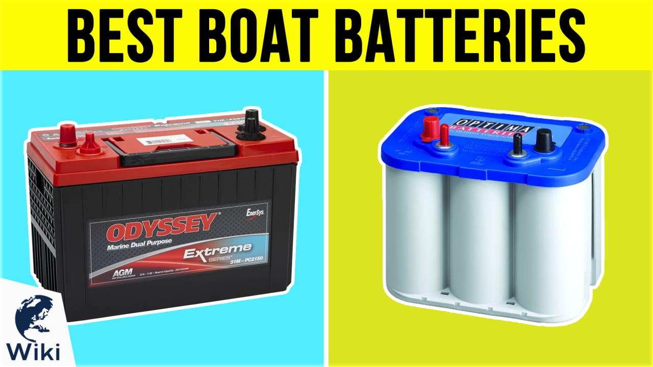 9 Best Boat Batteries