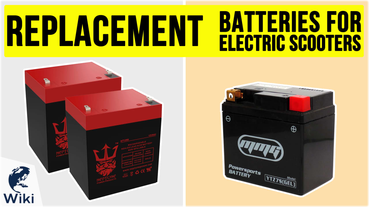 9 Best Replacement Batteries For Electric Scooters