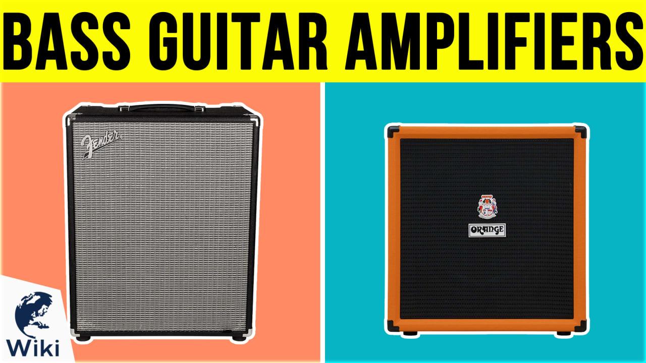10 Best Bass Guitar Amplifiers