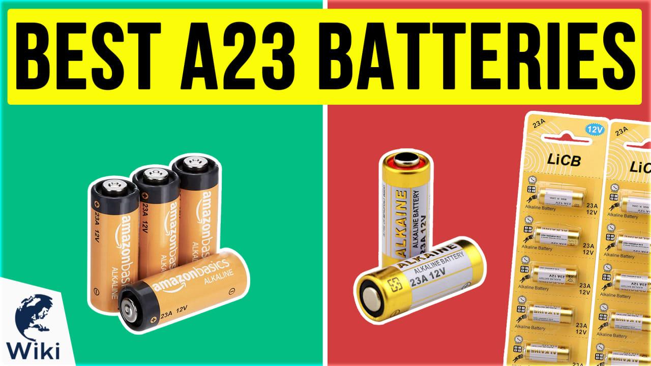 8 Best A23 Batteries