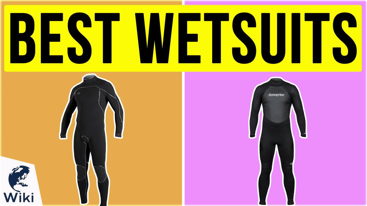10 Best Wetsuits