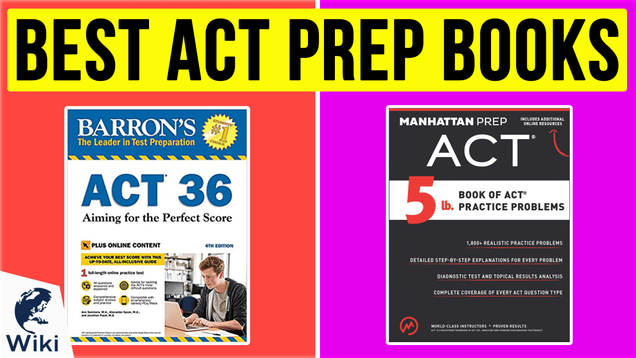 10 Best ACT Prep Books