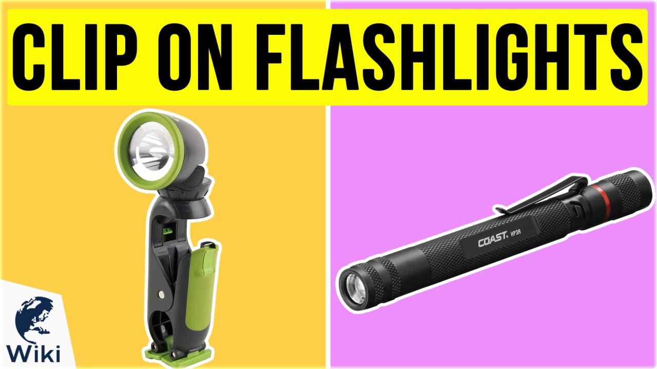 10 Best Clip On Flashlights