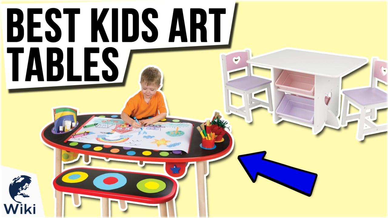 10 Best Kids Art Tables