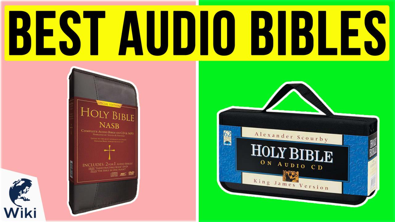 10 Best Audio Bibles