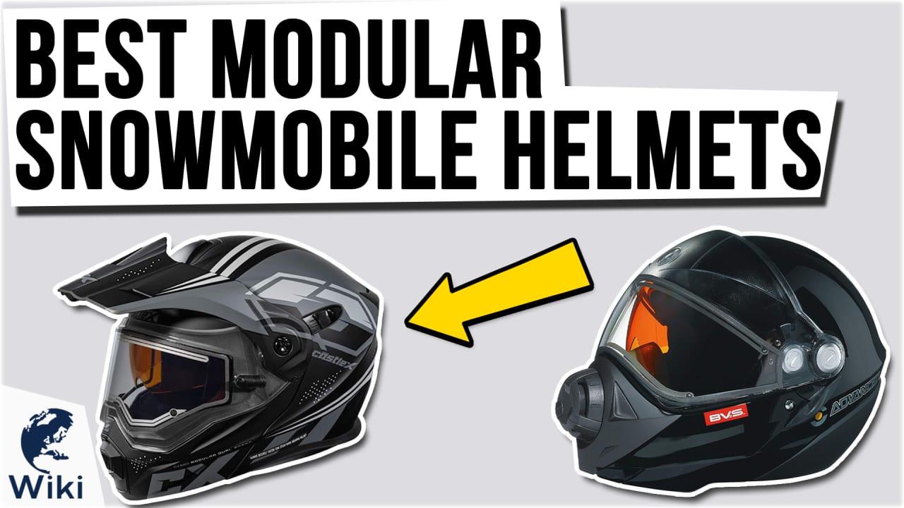 9 Best Modular Snowmobile Helmets