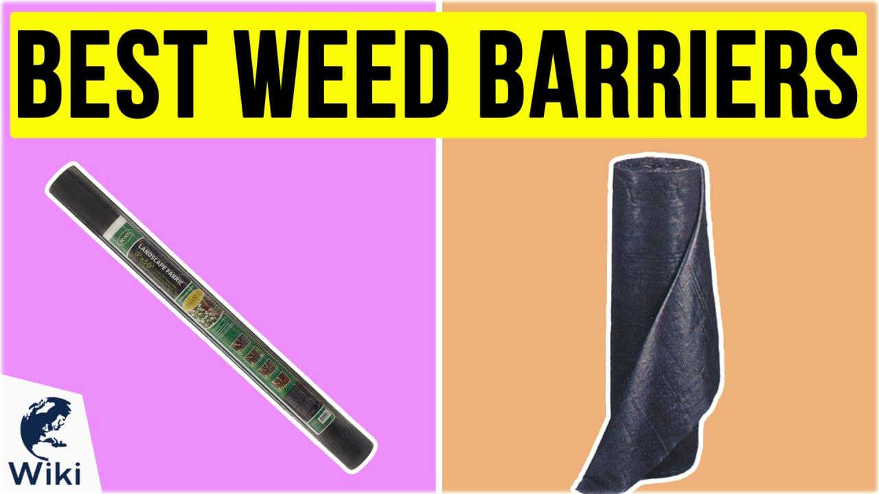 10 Best Weed Barriers