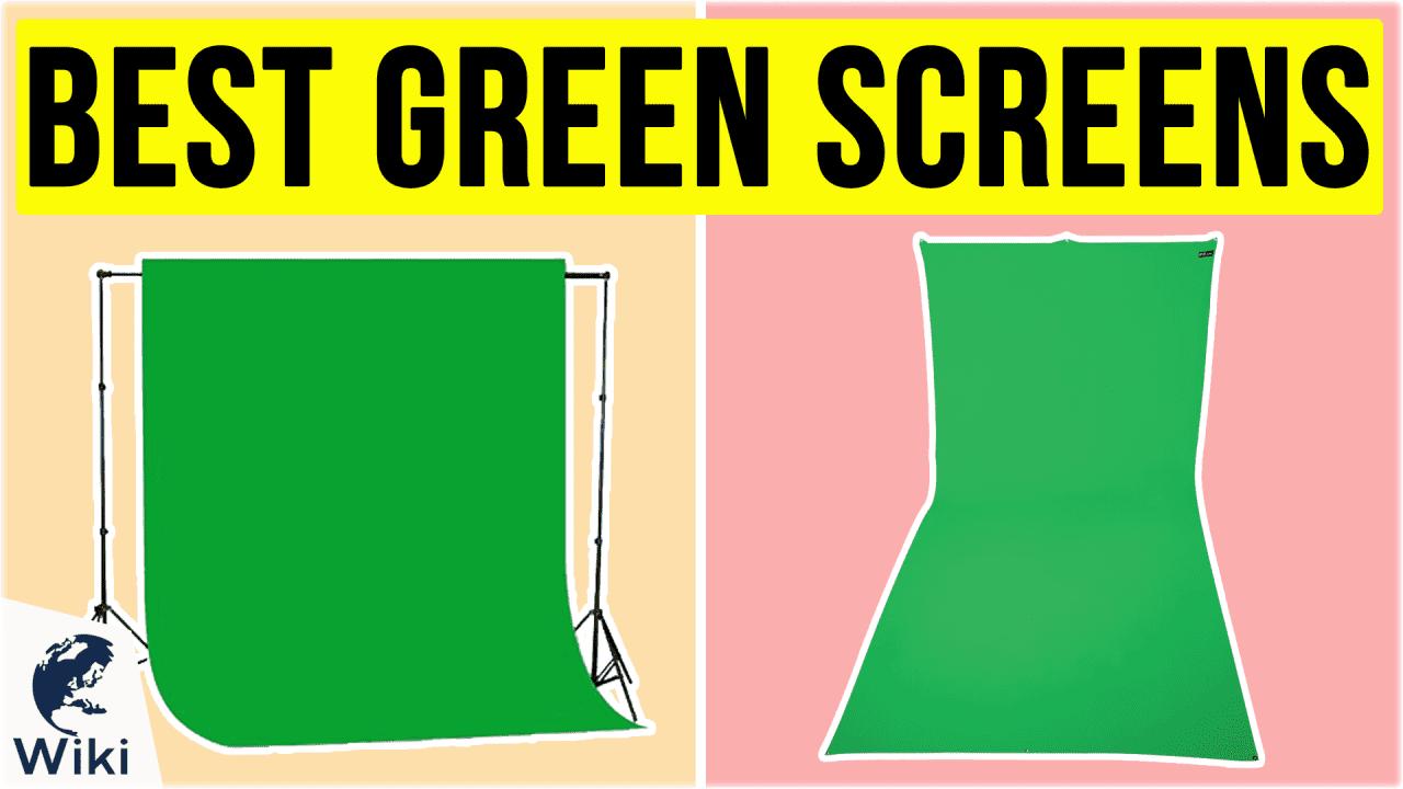 10 Best Green Screens