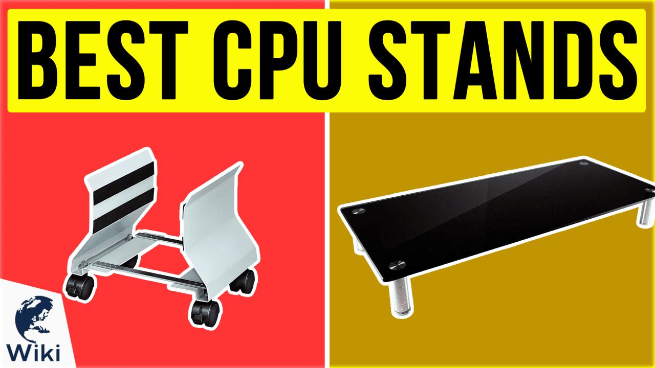 9 Best CPU Stands