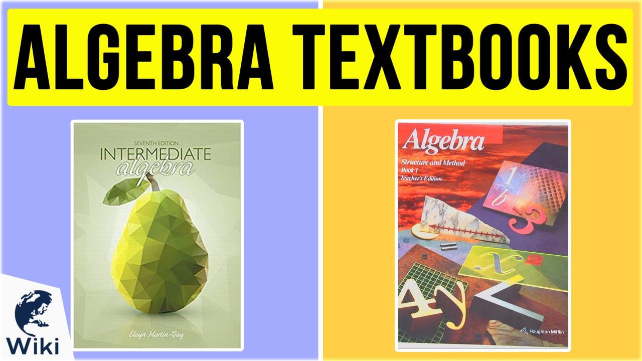10 Best Algebra Textbooks