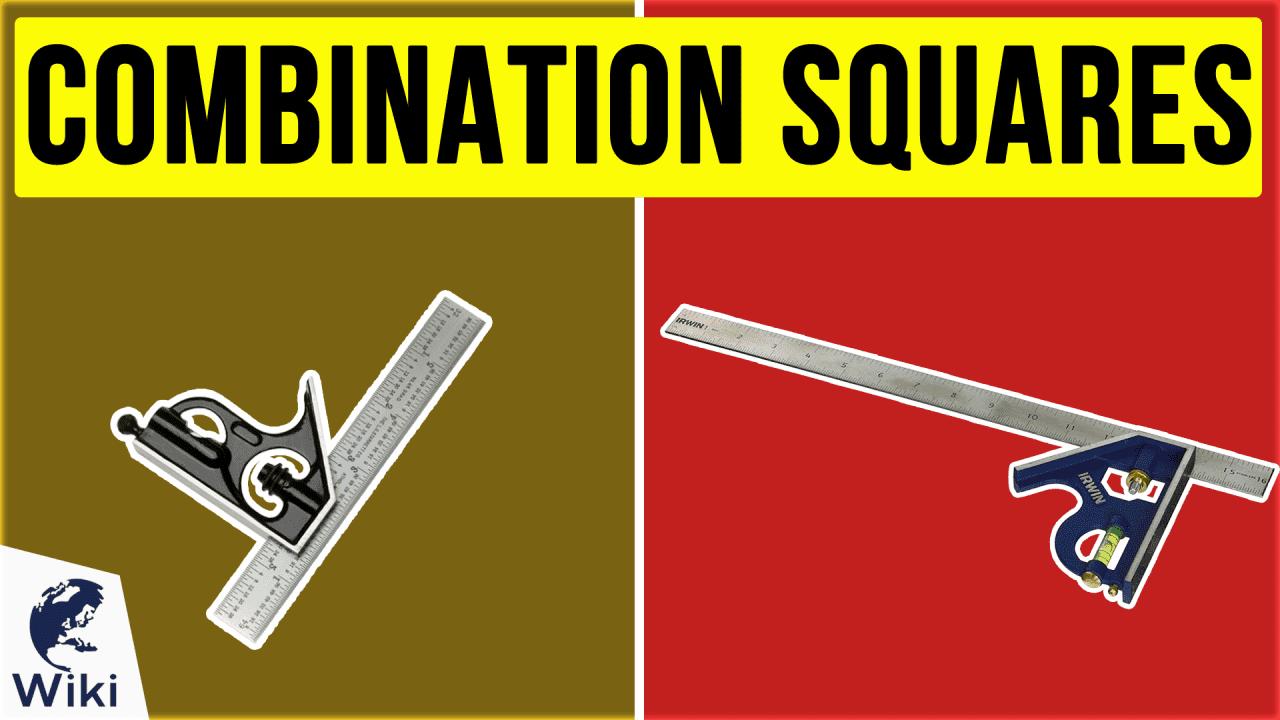 10 Best Combination Squares