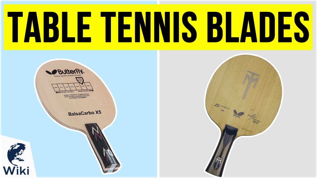 10 Best Table Tennis Blades