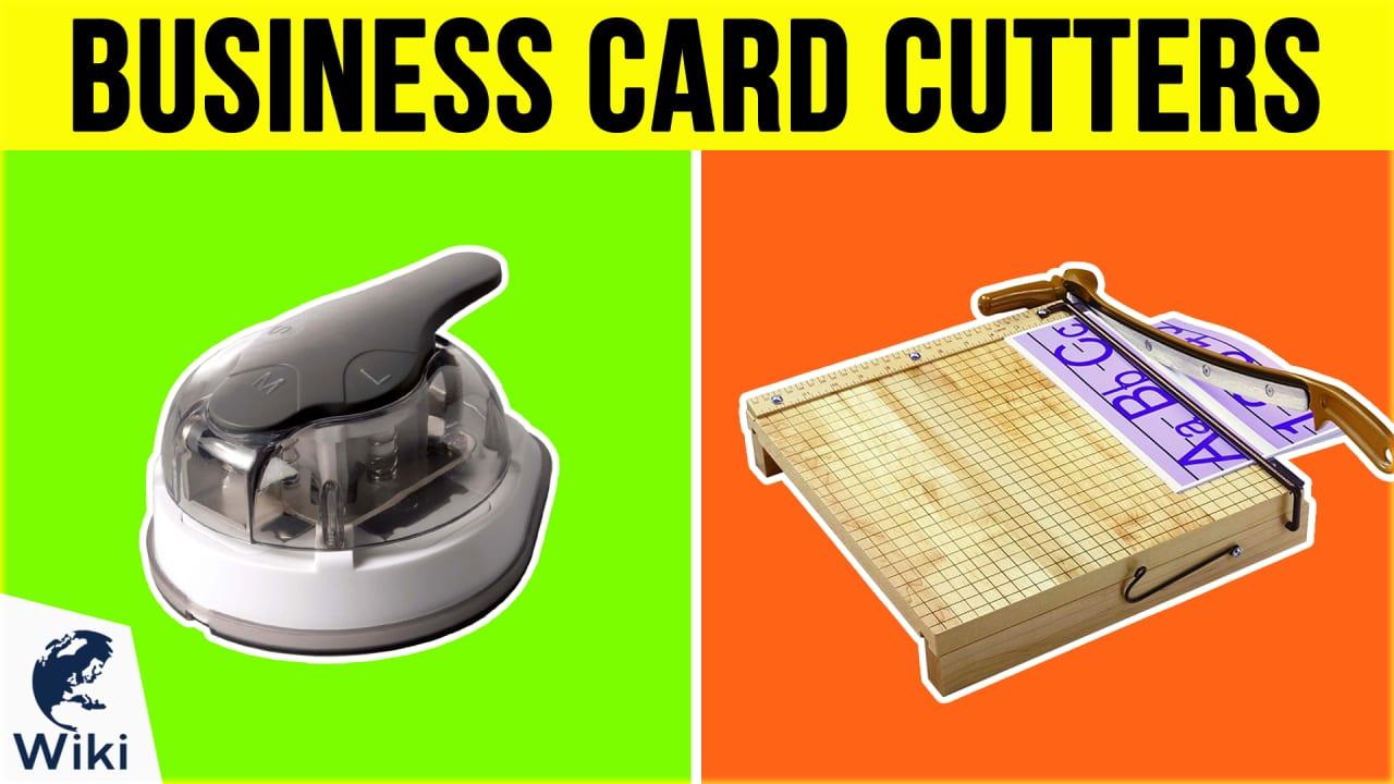8 Best Business Card Cutters