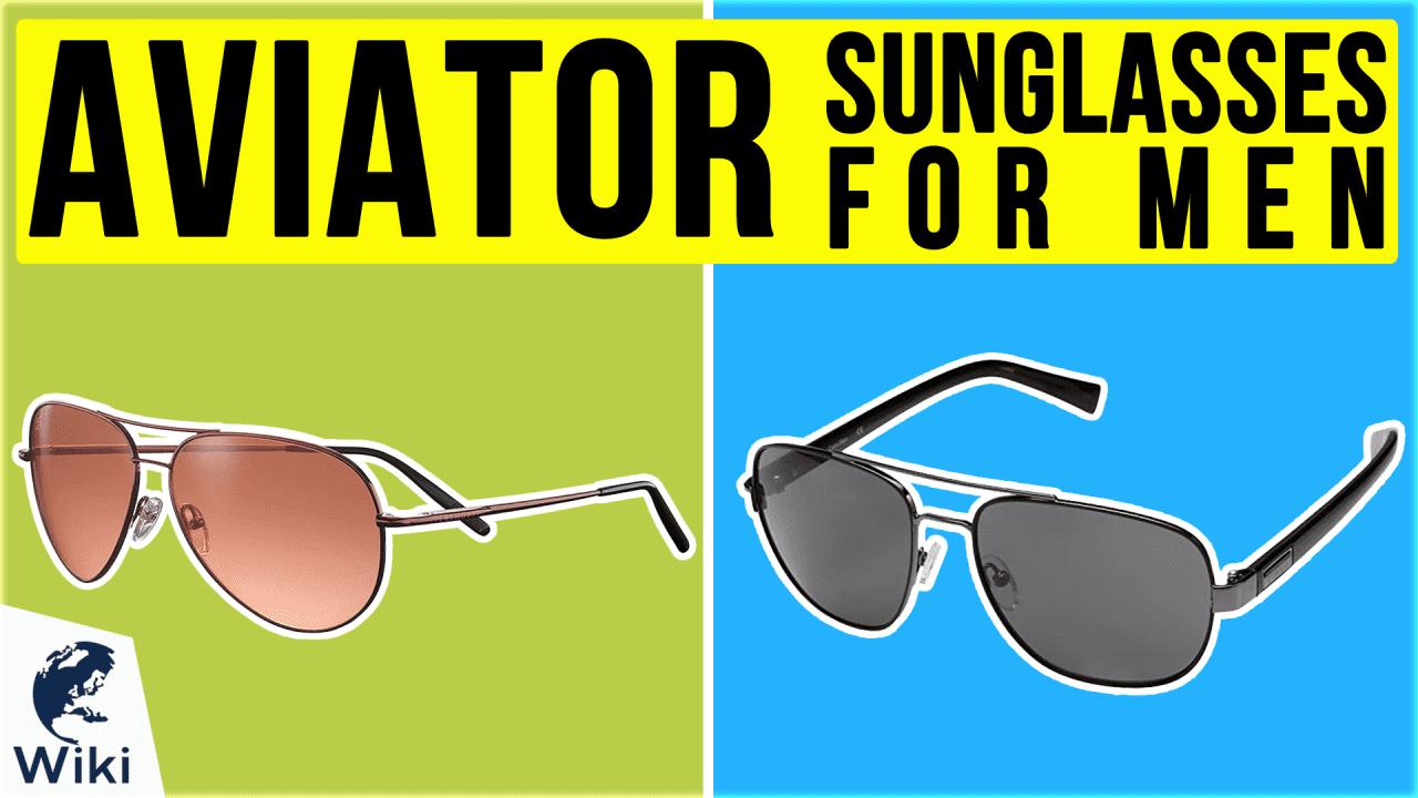 10 Best Aviator Sunglasses For Men