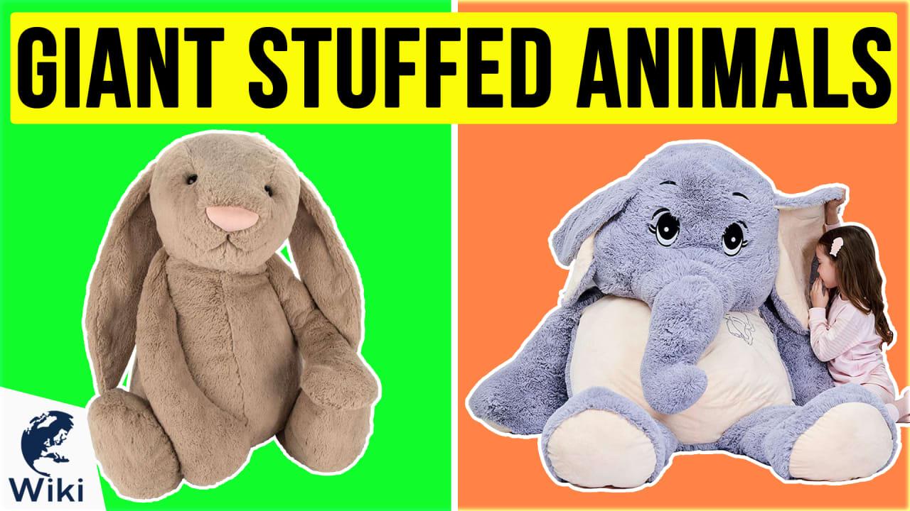 10 Best Giant Stuffed Animals