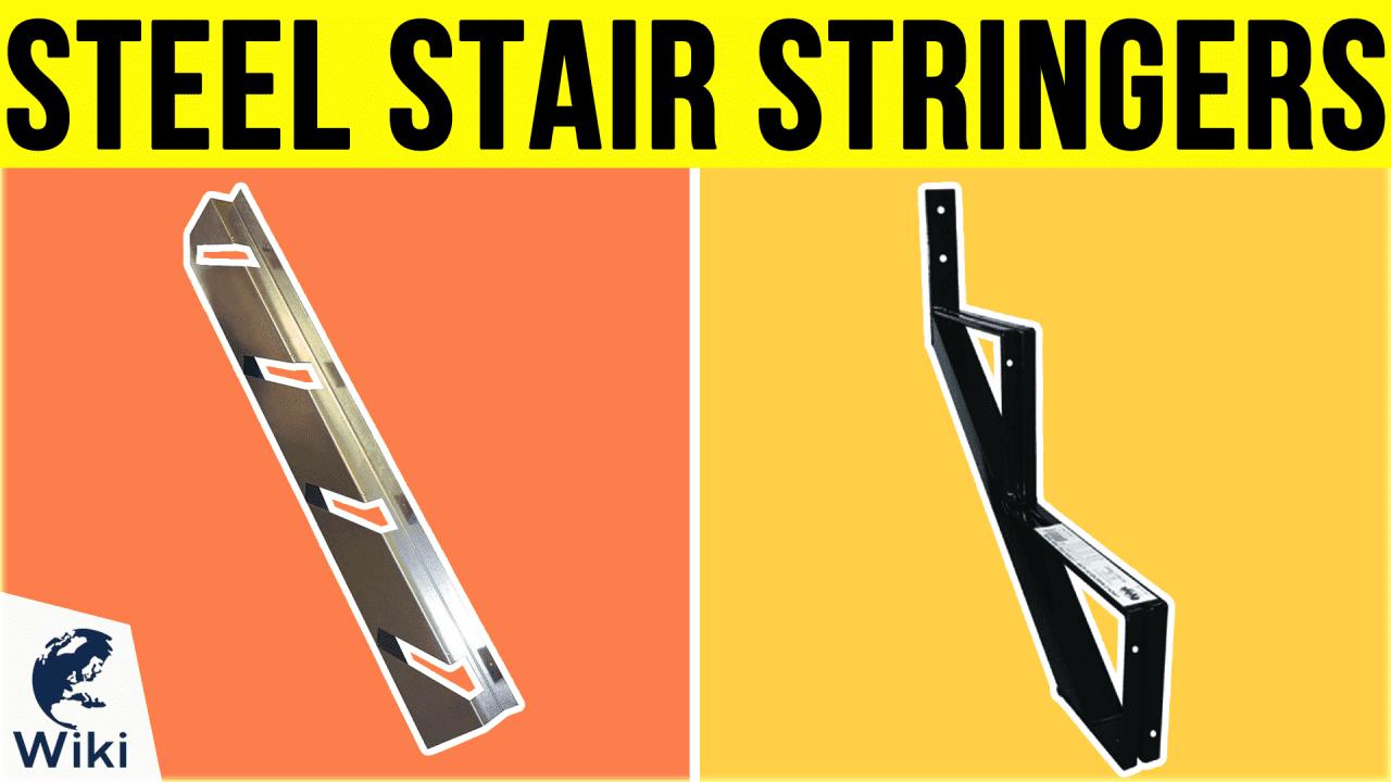 6 Best Steel Stair Stringers