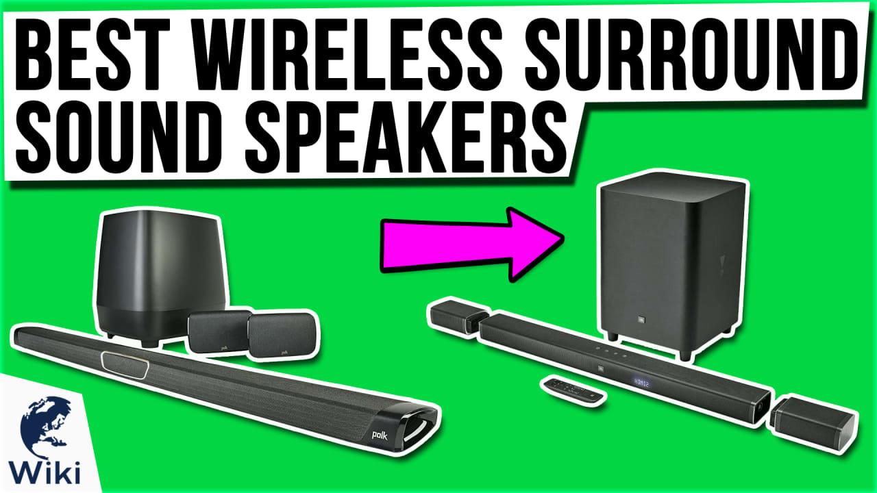 10 Best Wireless Surround Sound Speakers