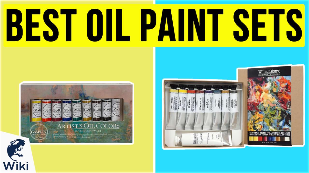 10 Best Oil Paint Sets