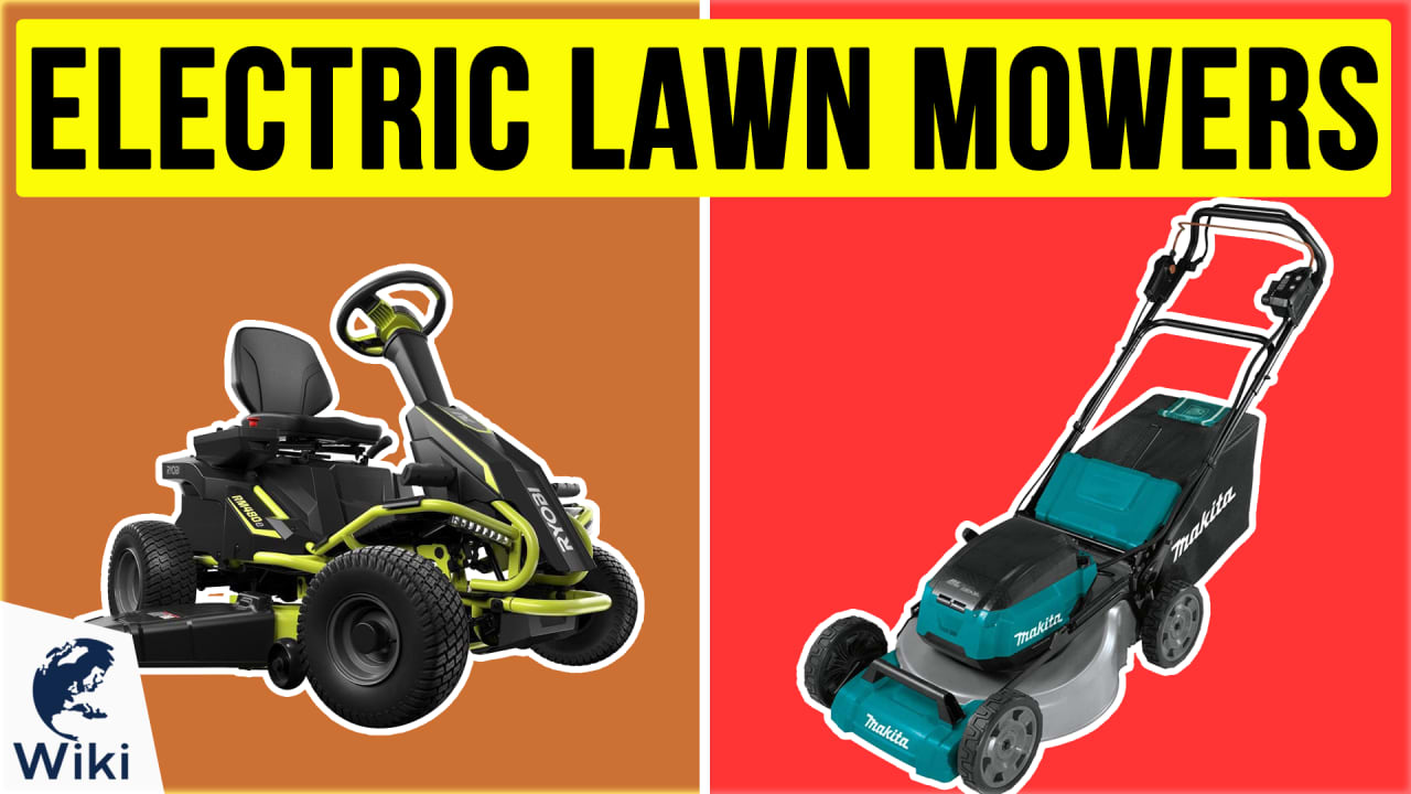 10 Best Electric Lawn Mowers