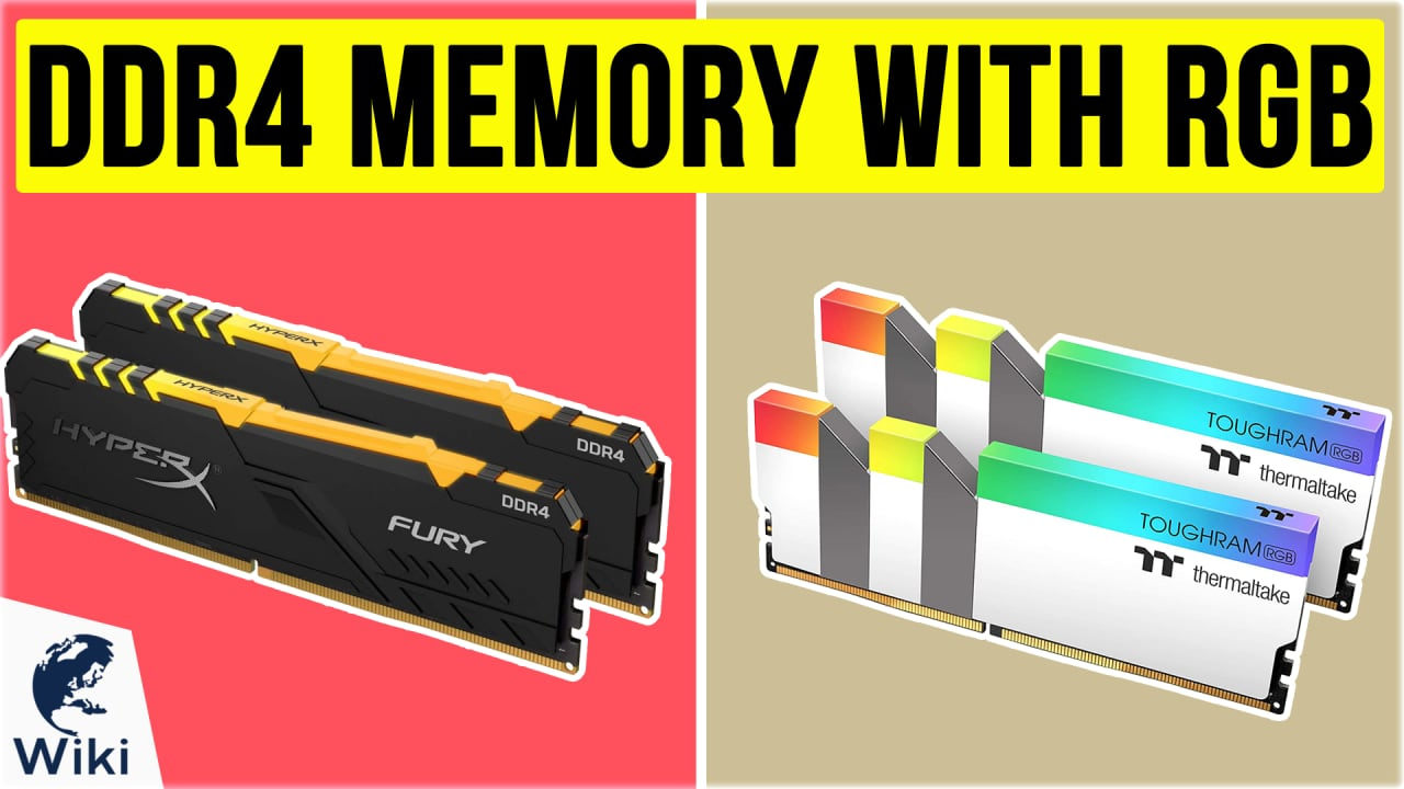 10 Best DDR4 Memory With RGB
