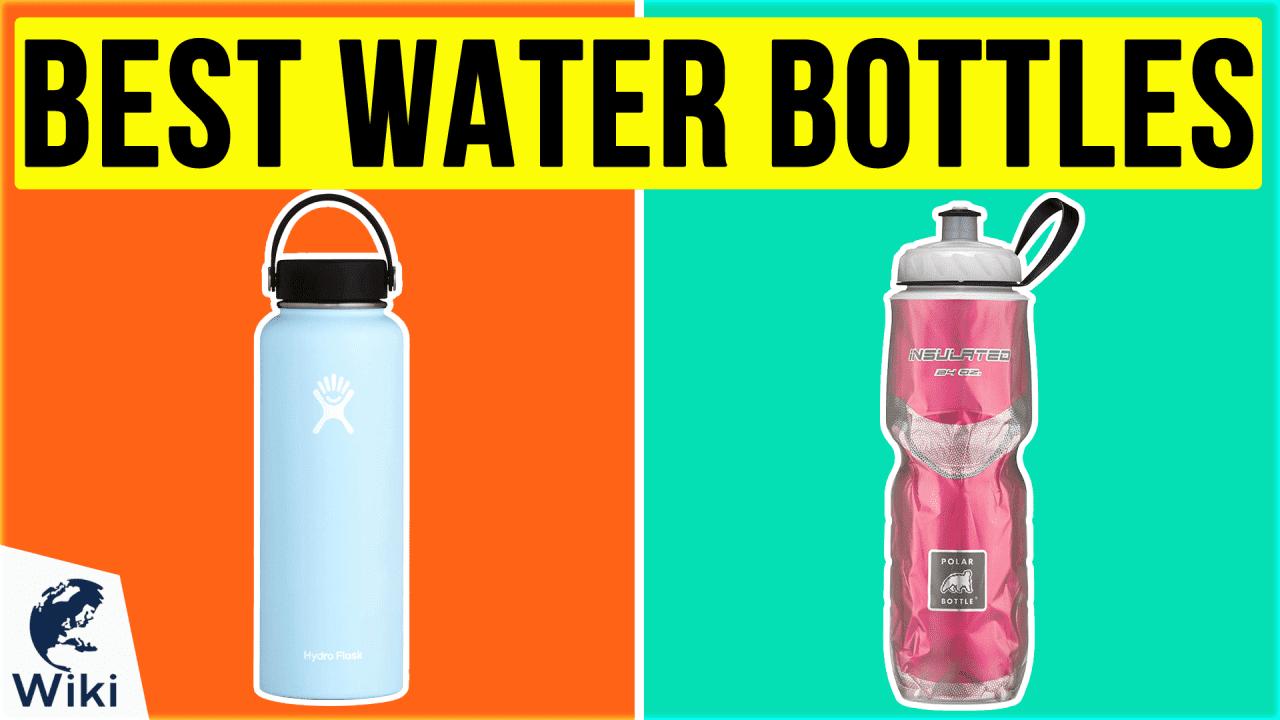 10 Best Water Bottles