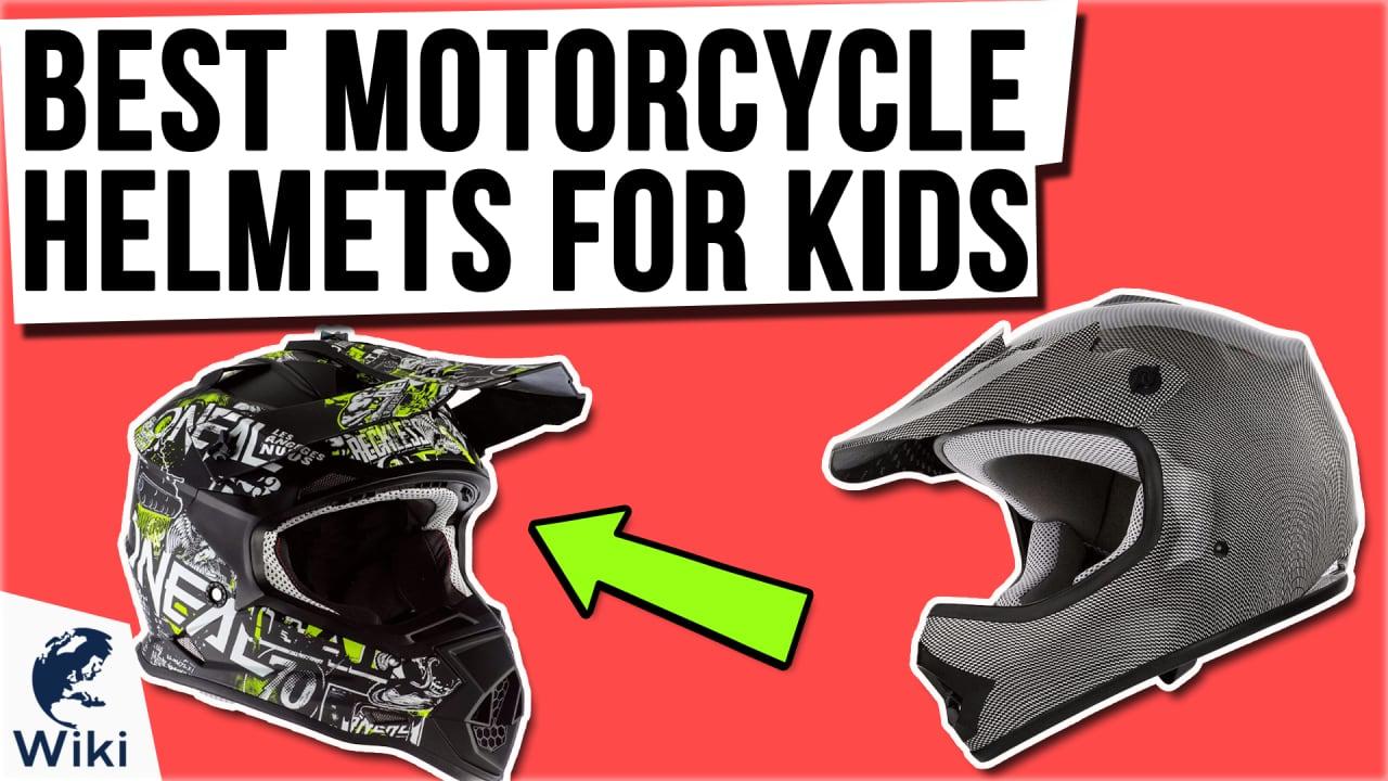 10 Best Motorcycle Helmets For Kids