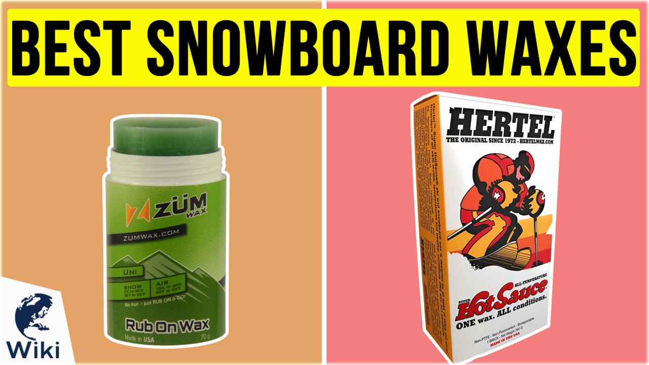 10 Best Snowboard Waxes