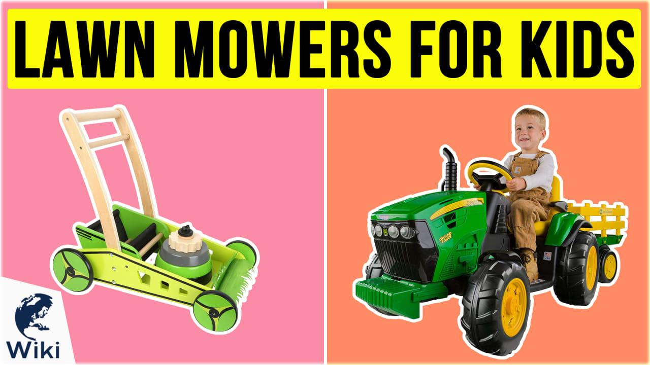 8 Best Lawn Mowers For Kids