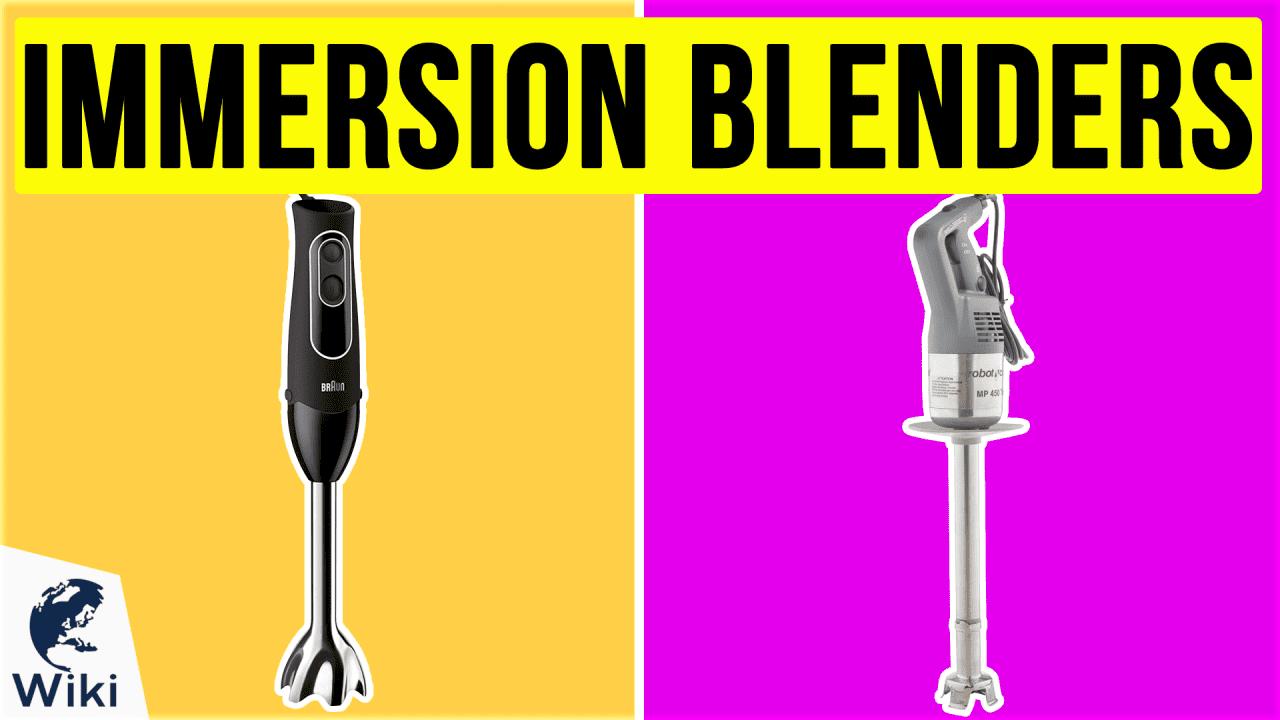 10 Best Immersion Blenders