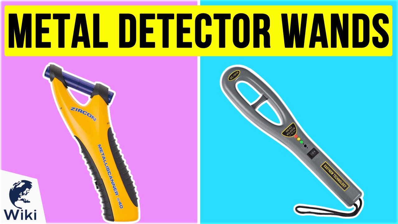 10 Best Metal Detector Wands