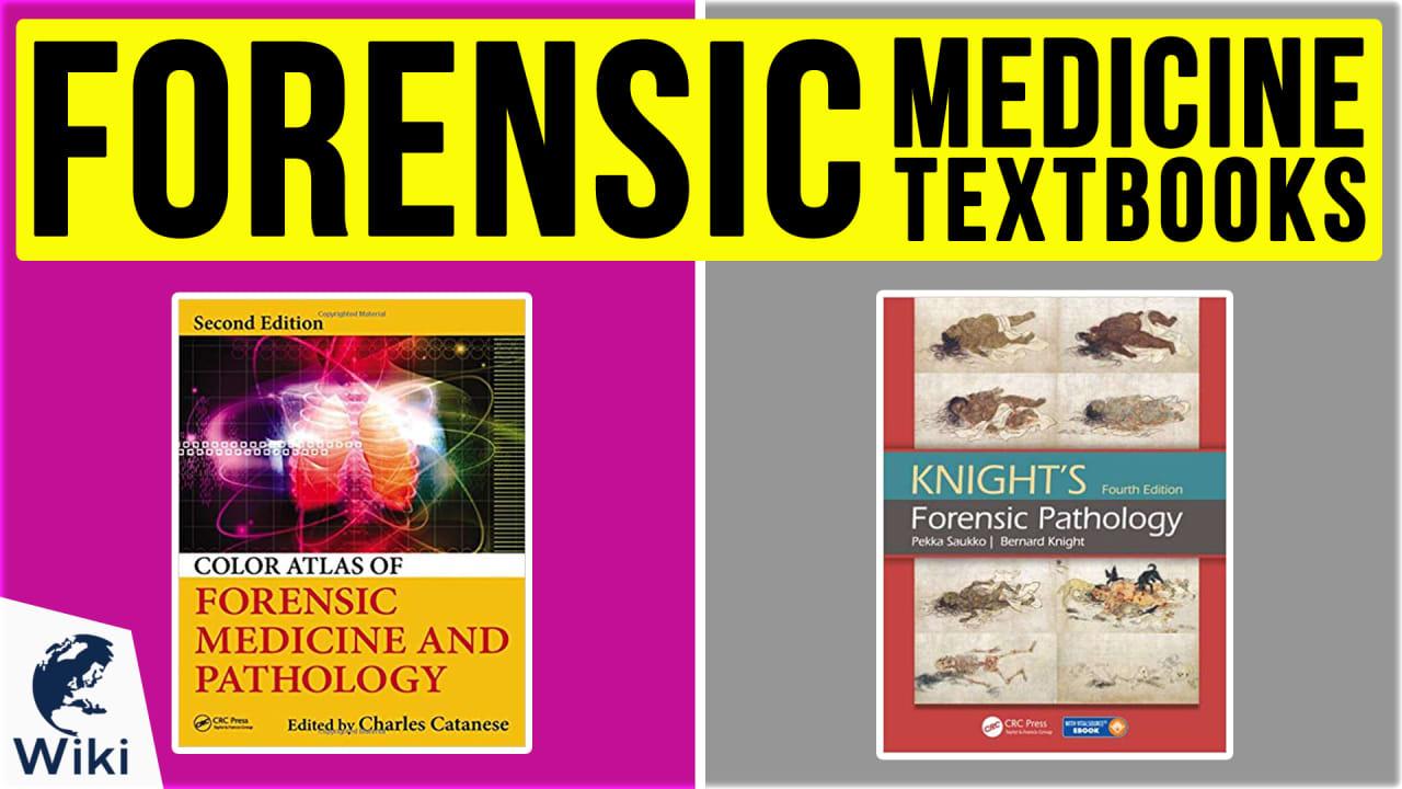 10 Best Forensic Medicine Textbooks