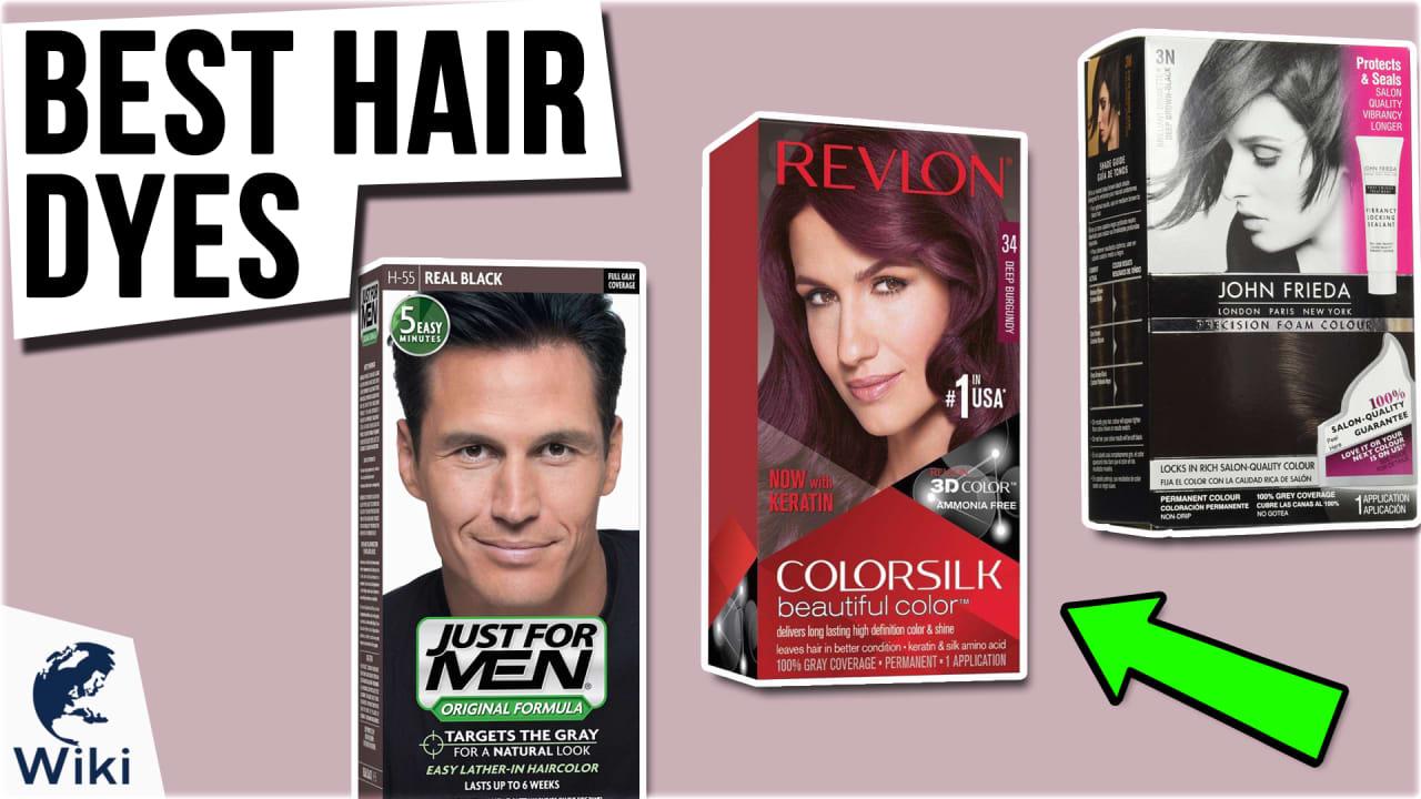 10 Best Hair Dyes