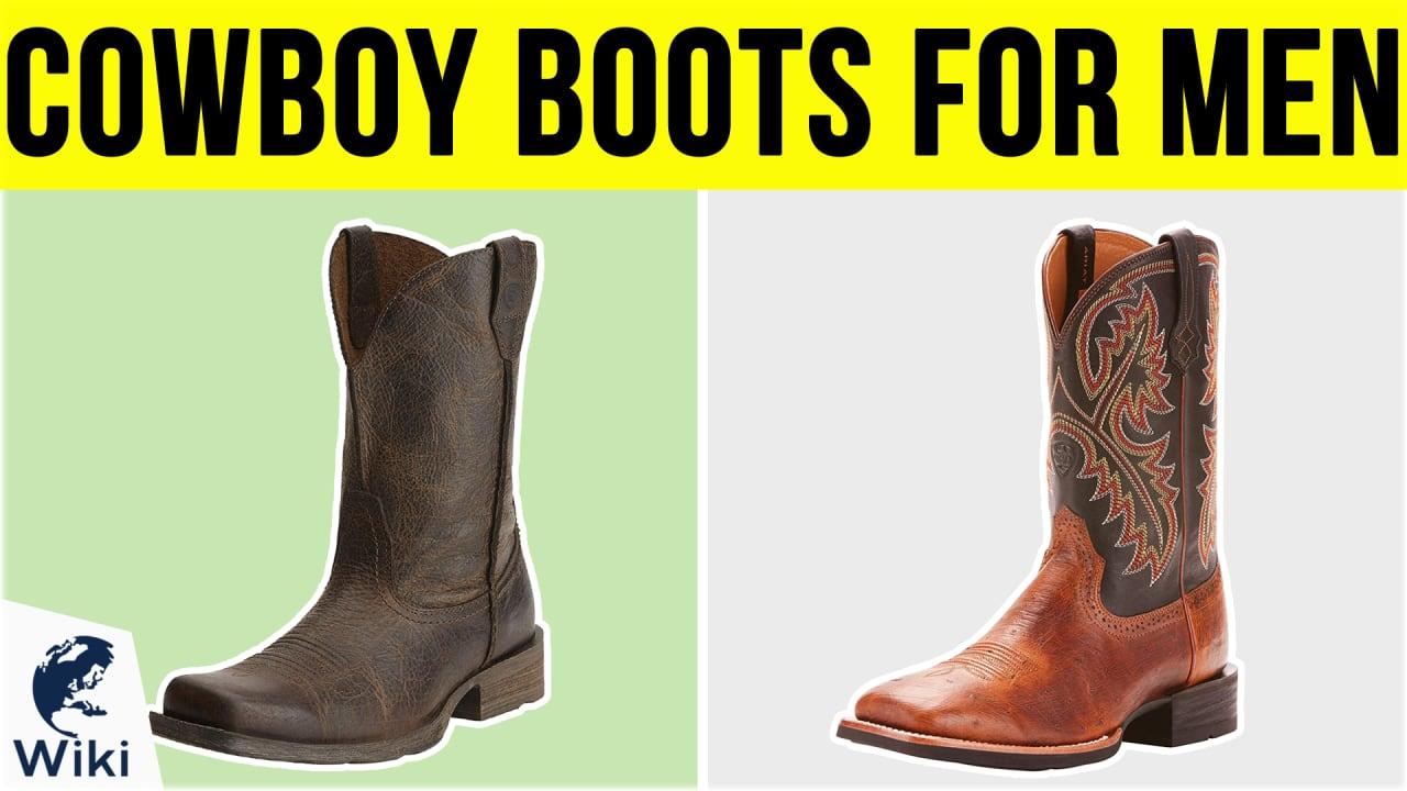 10 Best Cowboy Boots For Men