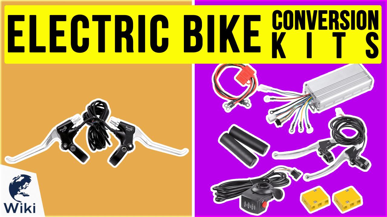 10 Best Electric Bike Conversion Kits