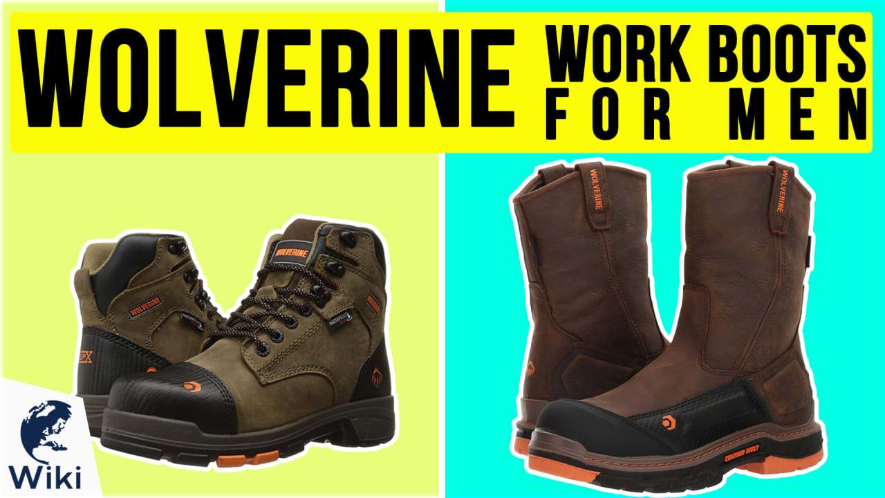 10 Best Wolverine Work Boots For Men