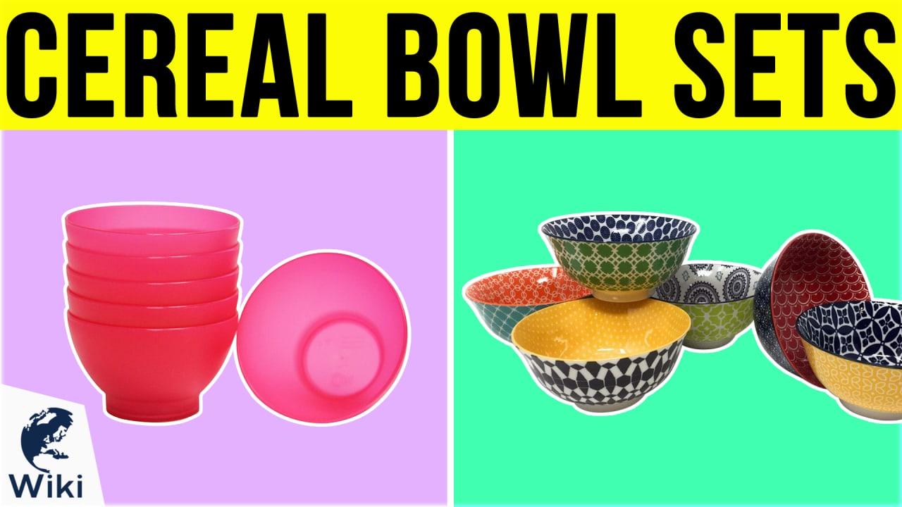 10 Best Cereal Bowl Sets