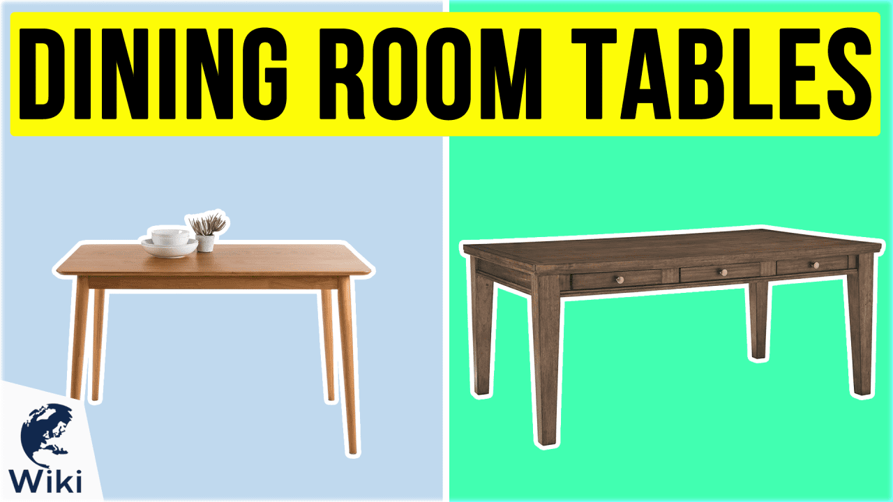 10 Best Dining Room Tables