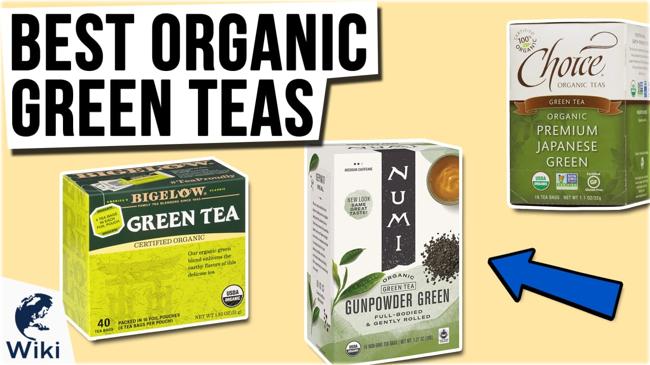 10 Best Organic Green Teas
