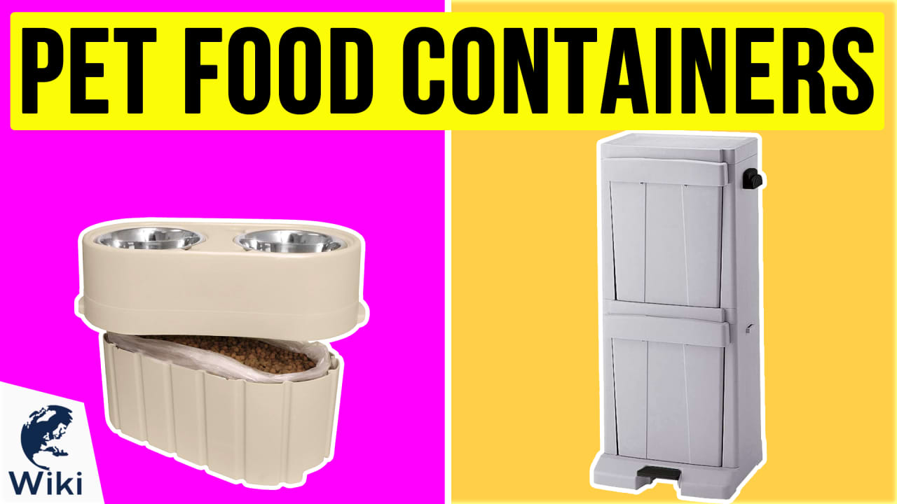10 Best Pet Food Containers