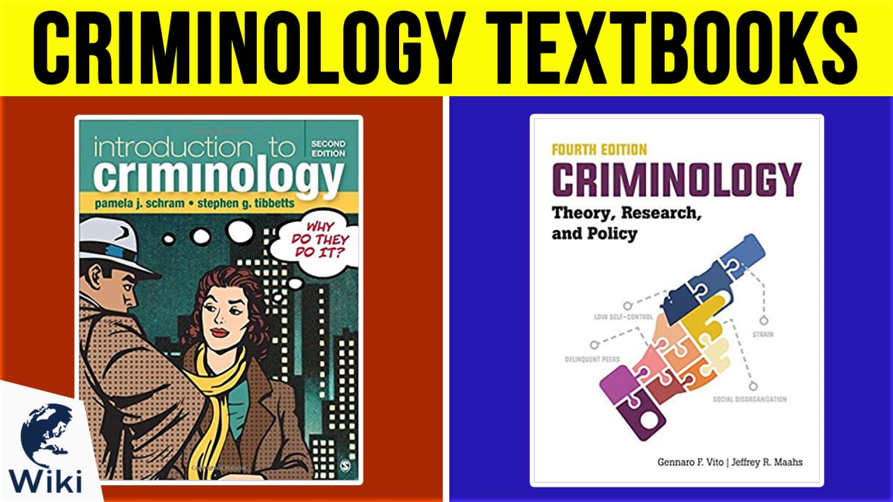 10 Best Criminology Textbooks