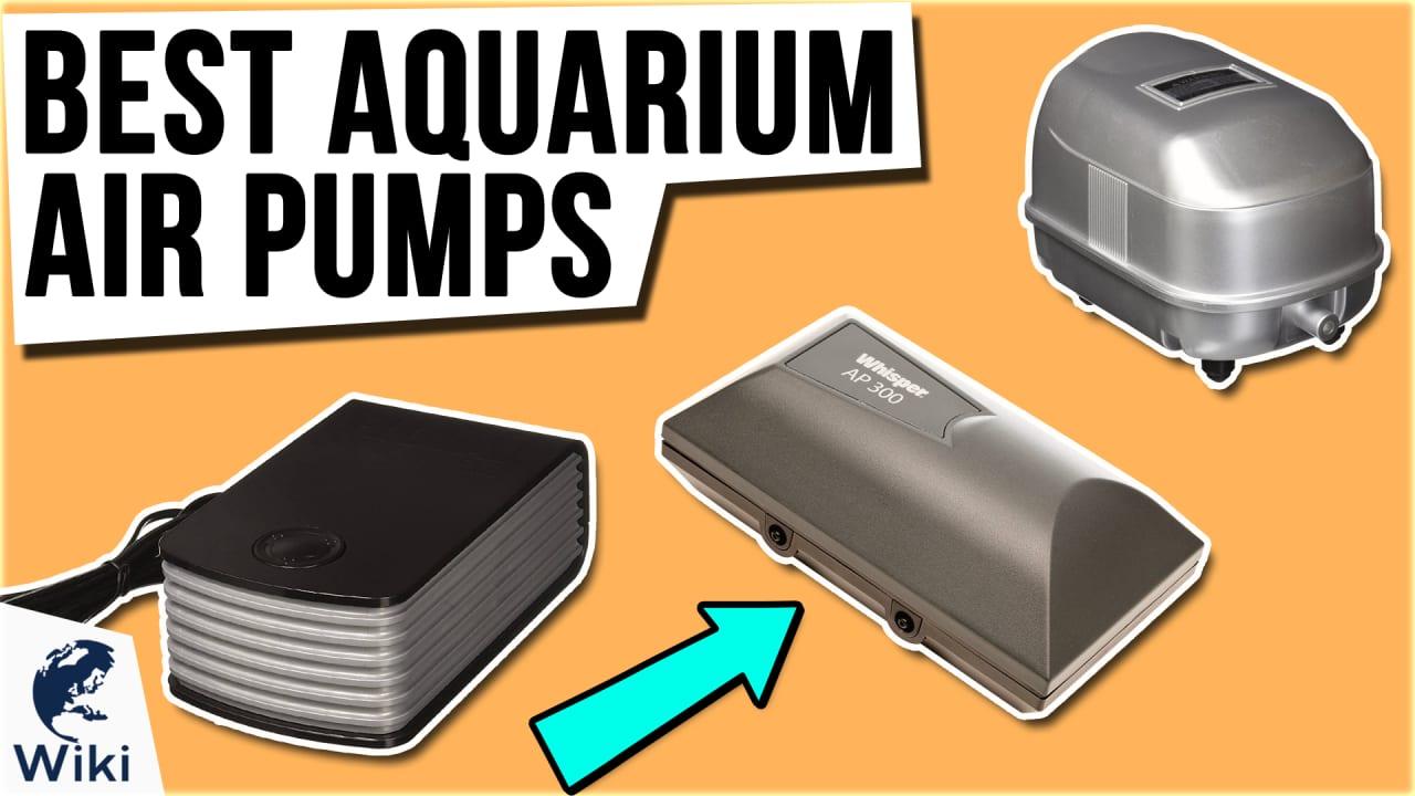 10 Best Aquarium Air Pumps