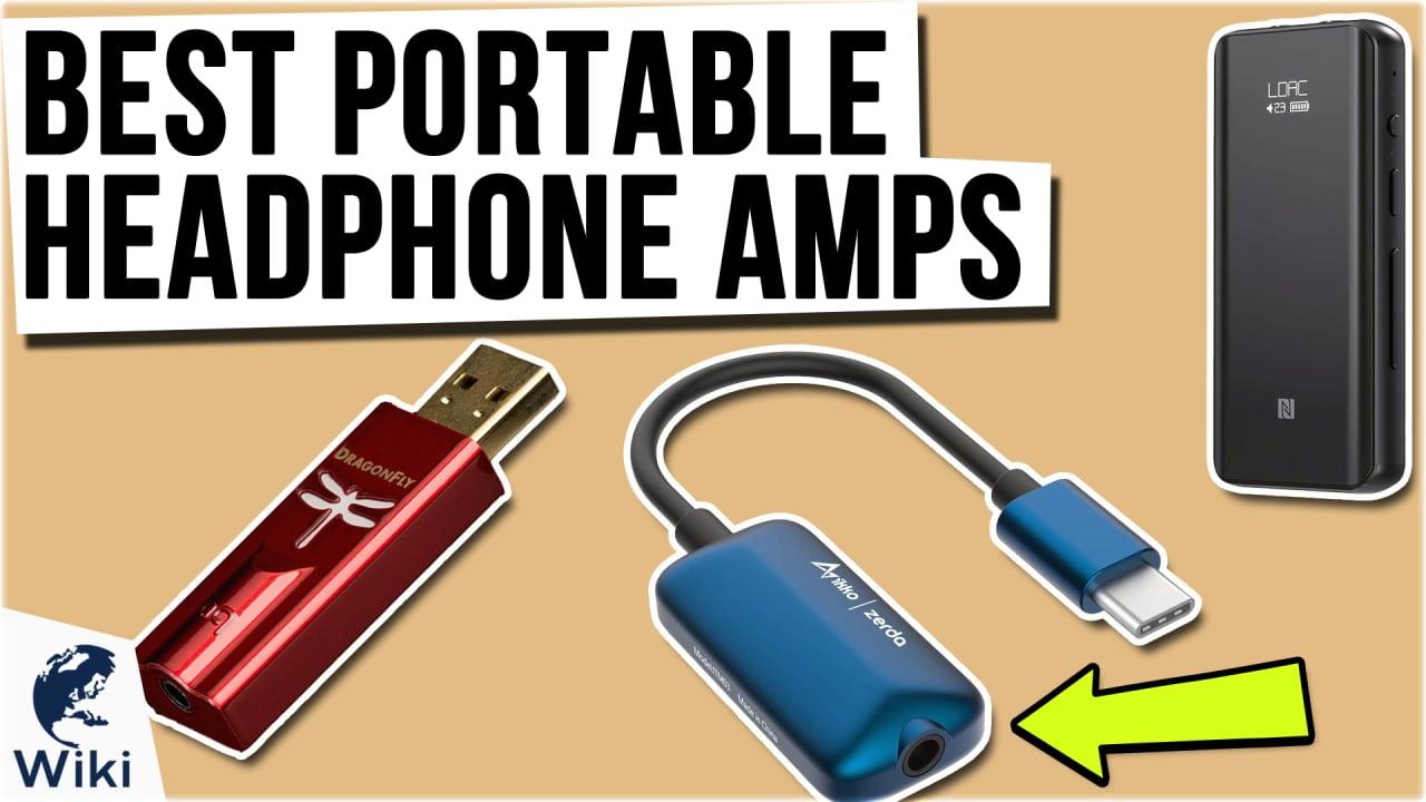 8 Best Portable Headphone Amps