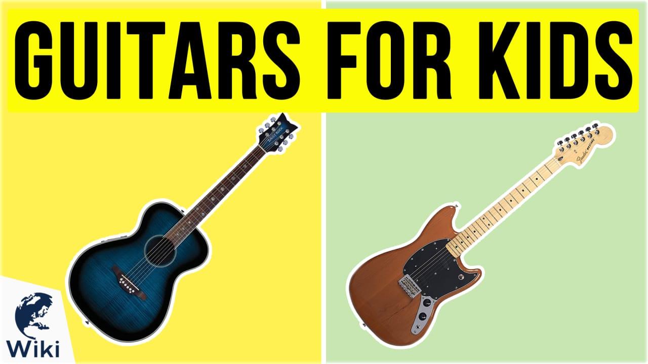 10 Best Guitars For Kids