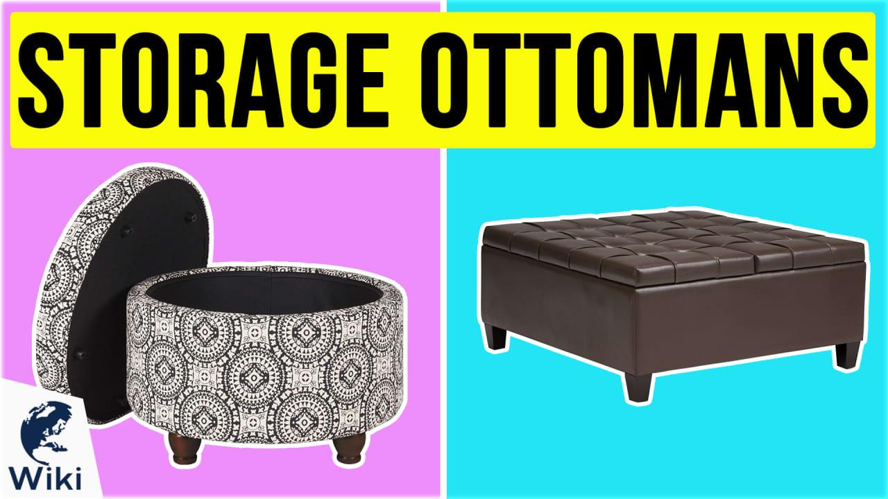 10 Best Storage Ottomans