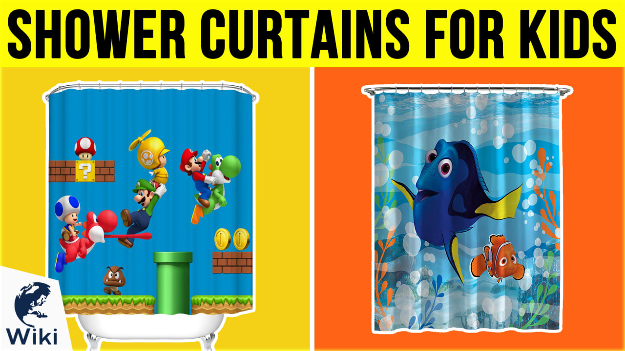 10 Best Shower Curtains For Kids