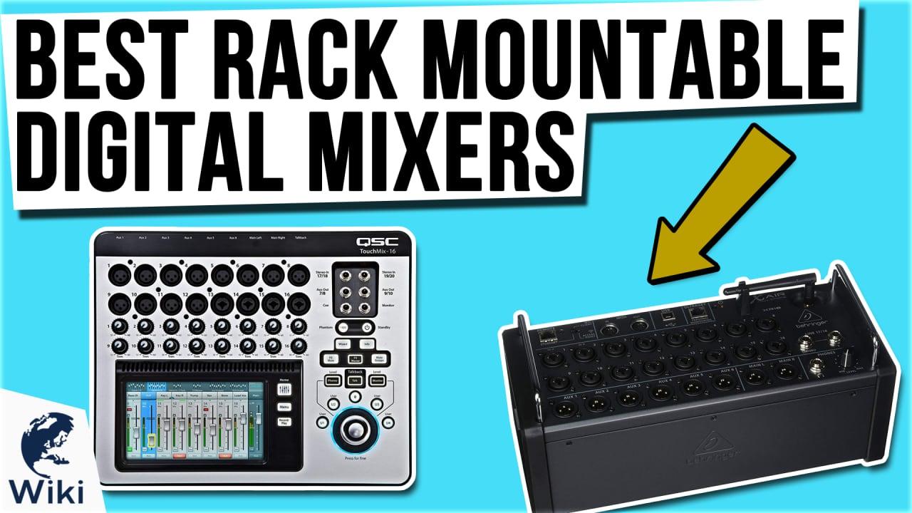 10 Best Rack Mountable Digital Mixers