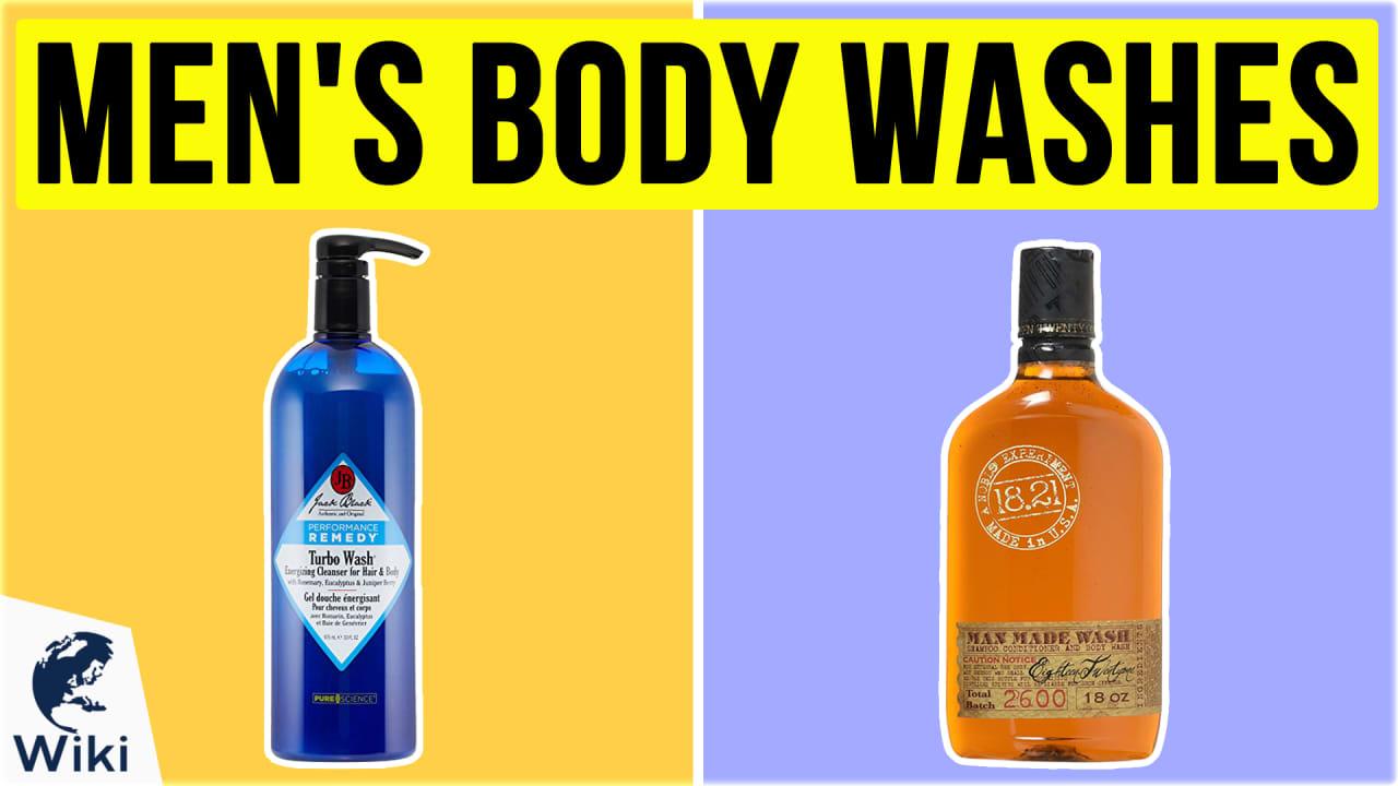 10 Best Men's Body Washes