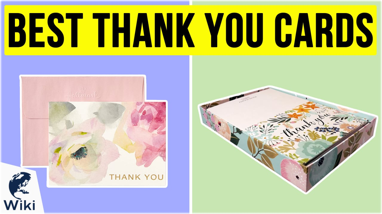 10 Best Thank You Cards