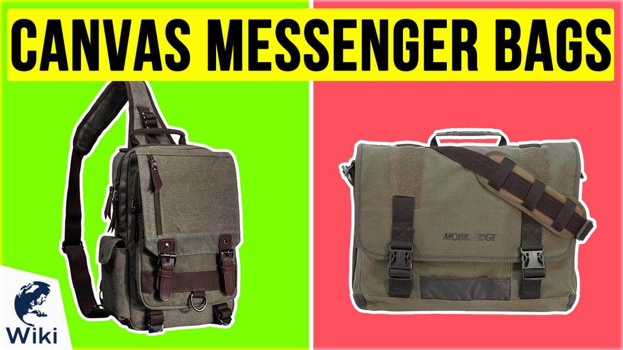 10 Best Canvas Messenger Bags