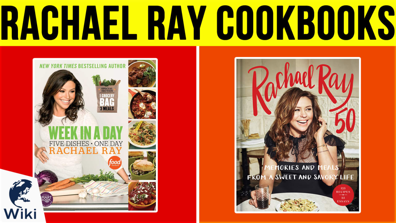 10 Best Rachael Ray Cookbooks